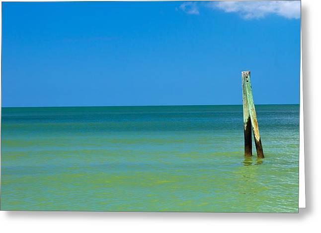 Toy Boat Greeting Cards - Boca Grande Florida Greeting Card by Fizzy Image
