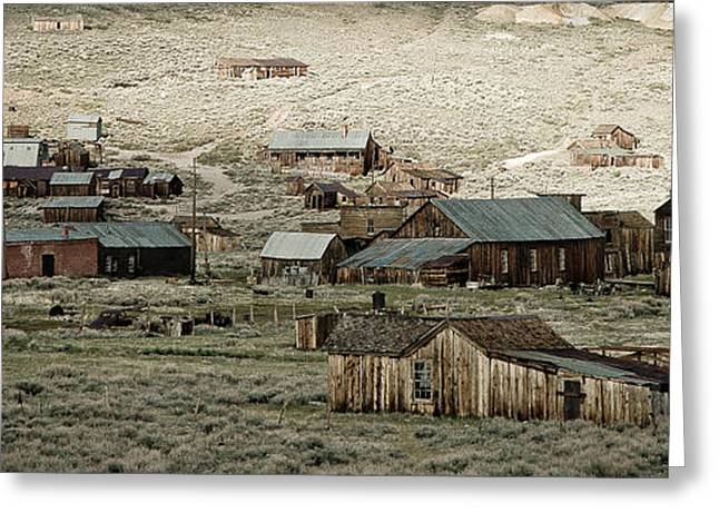 Historical Images Greeting Cards - Bodie California Greeting Card by Nick  Boren