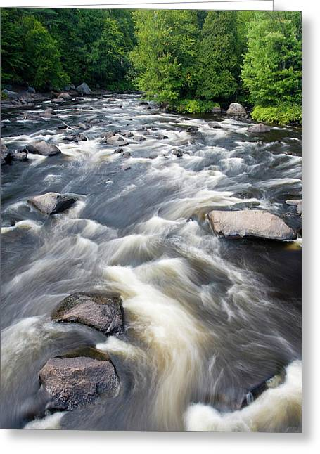 Canada, Quebec, Mont-rolland Greeting Card by Jaynes Gallery