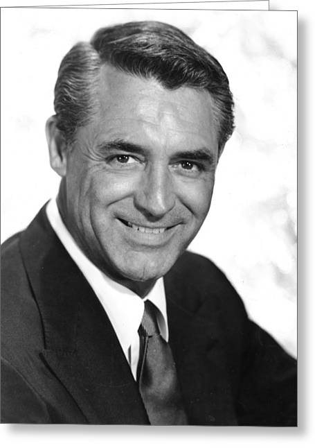 Cary Greeting Cards - Cary Grant Greeting Card by Silver Screen