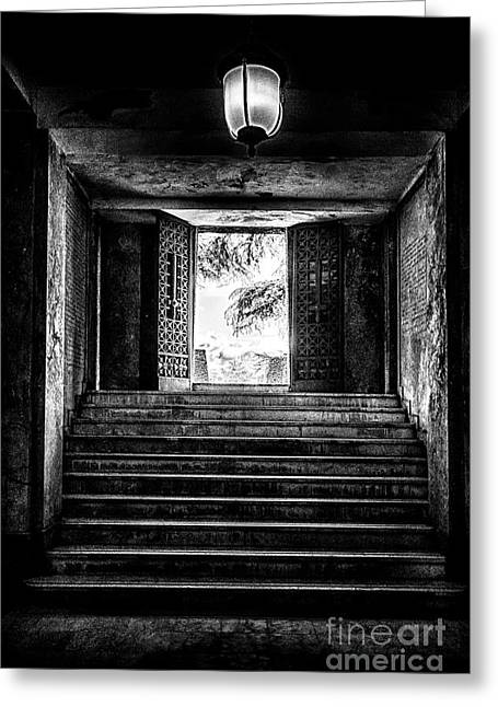 Dungeons Greeting Cards - Cemetery of Mantova Greeting Card by Traven Milovich