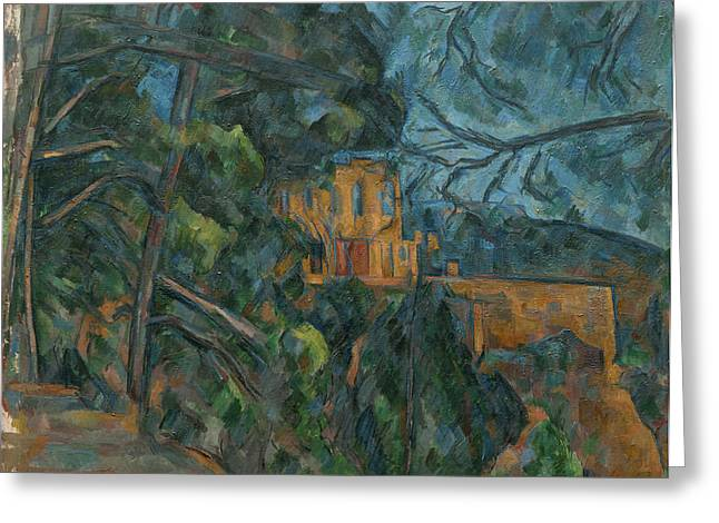 Chateau Greeting Cards - Chateau Noir Greeting Card by Paul Cezanne