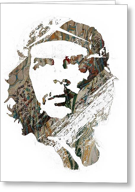 Che Guevara Greeting Cards - Che Guevara Greeting Card by Celestial Images