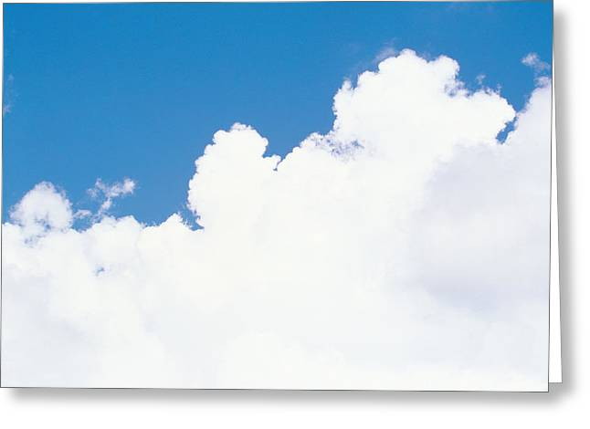Cumulus Clouds Greeting Cards - Cloudy Sky Greeting Card by Panoramic Images