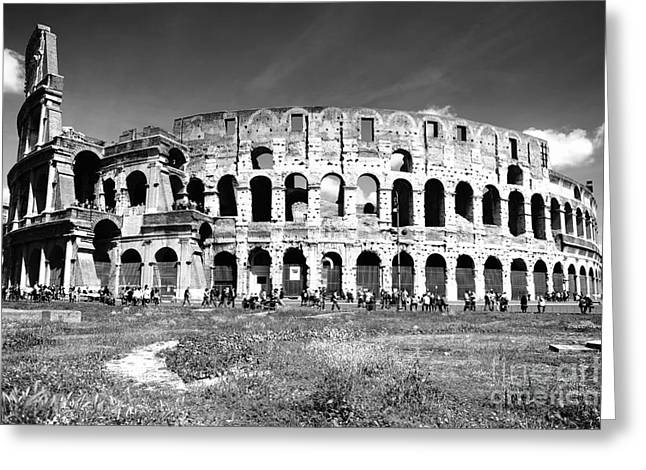 Colosseum Greeting Card by Stefano Senise
