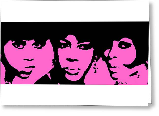 Rhythm And Blues Digital Art Greeting Cards - Come See About Me Greeting Card by Raymond Vango