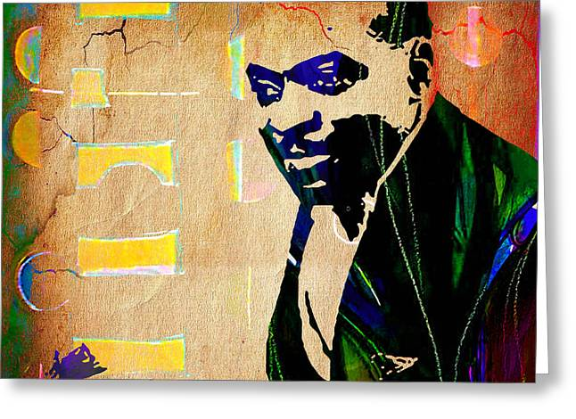 Count Basie Collection Greeting Card by Marvin Blaine