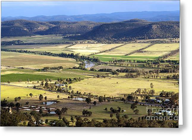 Localities Greeting Cards - Country Scenic Greeting Card by Tim Hester