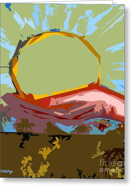 Abstractions Mixed Media Greeting Cards - Dawn Greeting Card by Patrick J Murphy