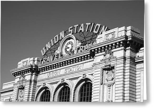 Depot Greeting Cards - Denver - Union Station Greeting Card by Frank Romeo