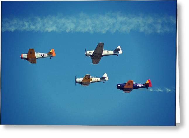Beach Photography Greeting Cards - EAA Airventure Oshkosh WI Greeting Card by Carol Toepke