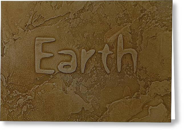 Grounding Greeting Cards - Earth Greeting Card by Anita Adrain