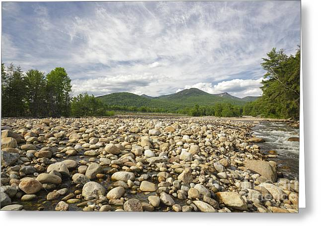 Riverwalk Greeting Cards - East Branch of the Pemigewasset River - Lincoln New Hampshire Greeting Card by Erin Paul Donovan