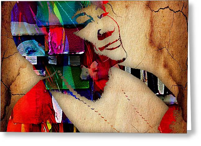 Pop Art Greeting Cards - Ella Fitzgerald Collection Greeting Card by Marvin Blaine