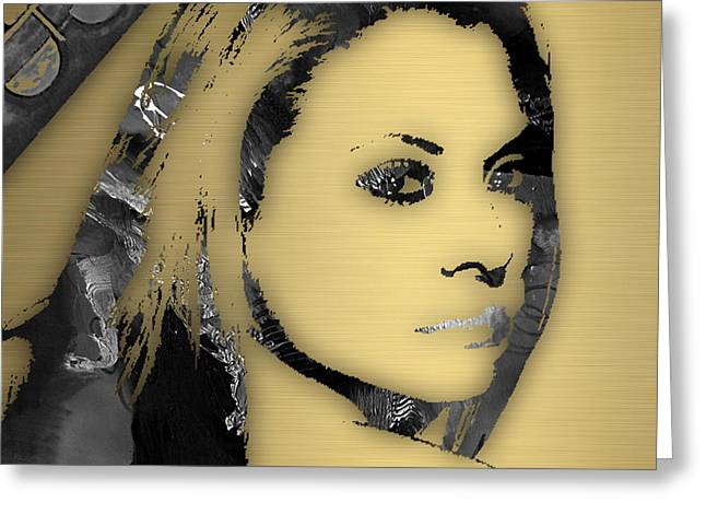 Actors Greeting Cards - Empires Kaitlin Doubleday Rhonda Lyon Greeting Card by Marvin Blaine