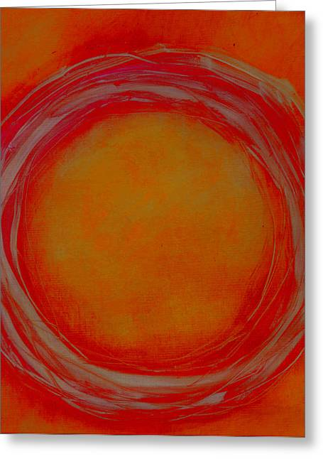 Enso Greeting Cards - Enso Greeting Card by Katie Black