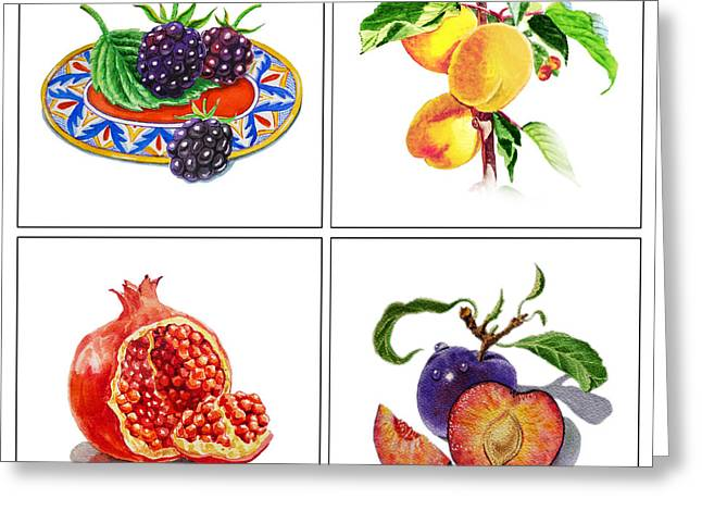 Art Decor Greeting Cards - Farmers Market Delight  Greeting Card by Irina Sztukowski
