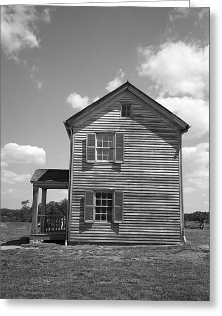 Farmhouse Greeting Card by Frank Romeo