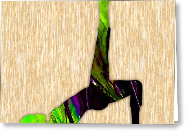 Yoga Greeting Cards - Fitness Yoga Greeting Card by Marvin Blaine