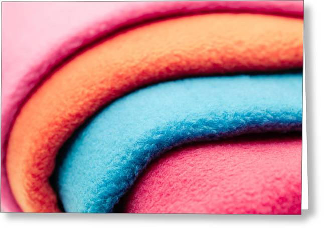 Diverse Photographs Greeting Cards - Fleece Greeting Card by Tom Gowanlock