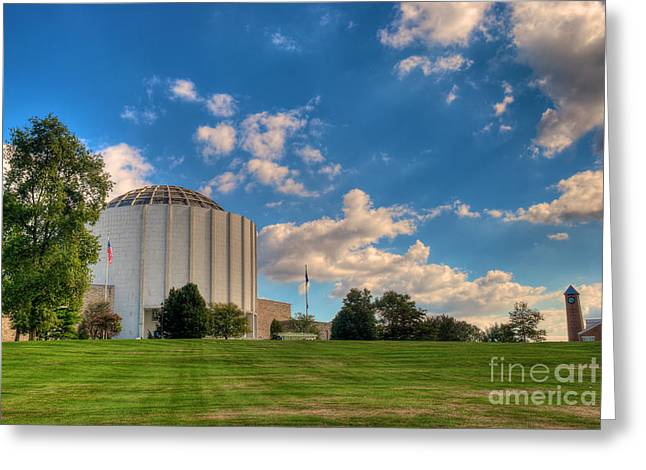 Mhs Greeting Cards - Founders Hall Greeting Card by Mark Dodd