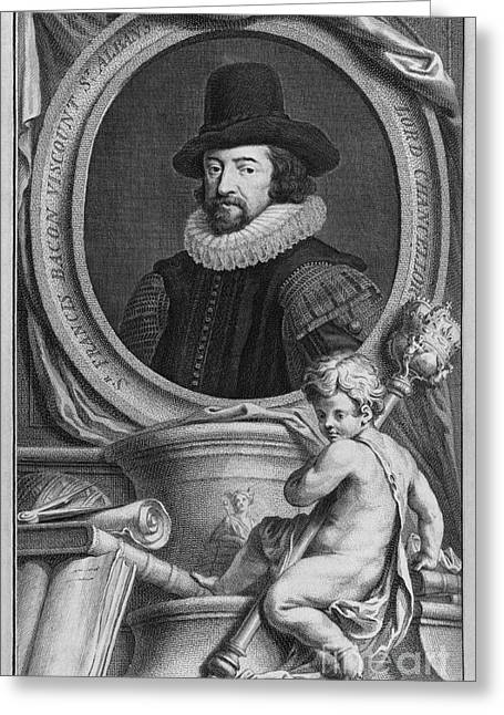 Francis Greeting Cards - Francis Bacon, English Philosopher Greeting Card by Middle Temple Library