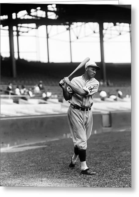 Philadelphia Phillies Stadium Greeting Cards - Francis J. Lefty ODoul Greeting Card by Retro Images Archive