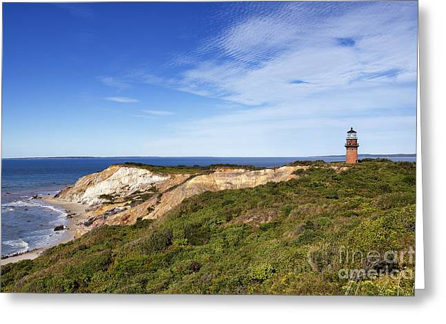 Gay Head Lighthouse Greeting Card by John Greim