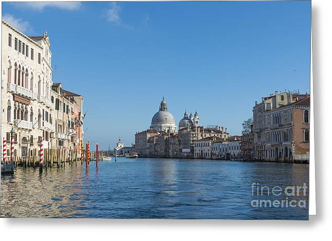Gran Canal Greeting Cards - Gran canal Greeting Card by Mats Silvan