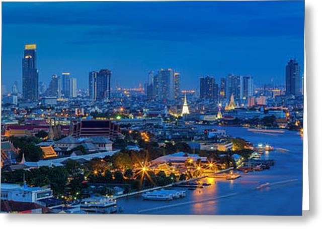 Office Space Greeting Cards - Grand palace  Greeting Card by Anek Suwannaphoom