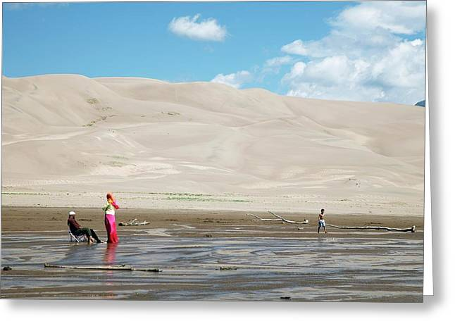 Great Sand Dunes National Park Greeting Card by Jim West