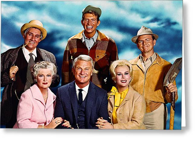 1960 Greeting Cards - Green Acres  Greeting Card by Silver Screen