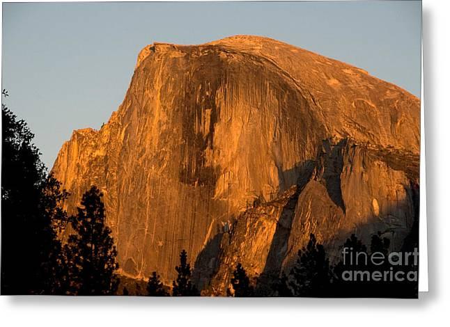 Half Dome, Yosemite Np Greeting Card by Mark Newman