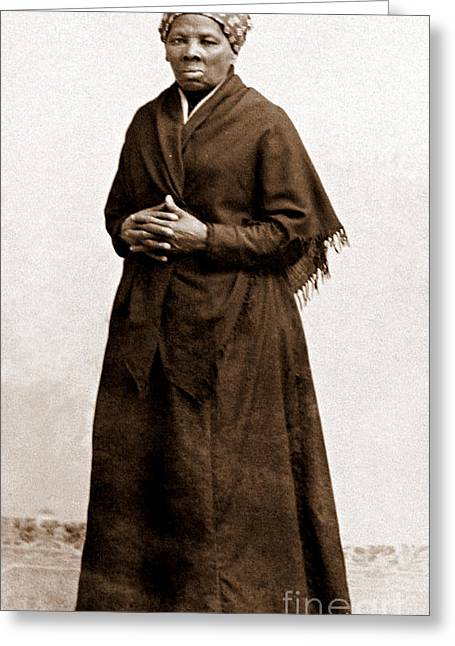 Abolition Photographs Greeting Cards - Harriet Tubman, American Abolitionist Greeting Card by Photo Researchers