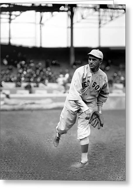 Boston Red Sox Greeting Cards - Harry B. Hooper Greeting Card by Retro Images Archive