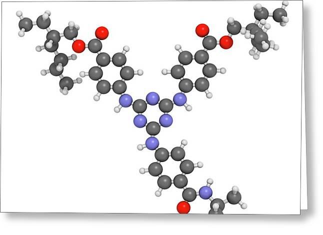 Iscotrizinol Sunscreen Molecule Greeting Card by Molekuul
