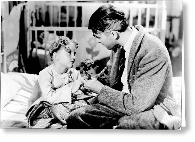 1940Õs Greeting Cards - Its a Wonderful Life  Greeting Card by Silver Screen