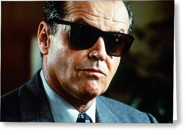 Jack Nicholson Greeting Cards - Jack Nicholson Greeting Card by Silver Screen