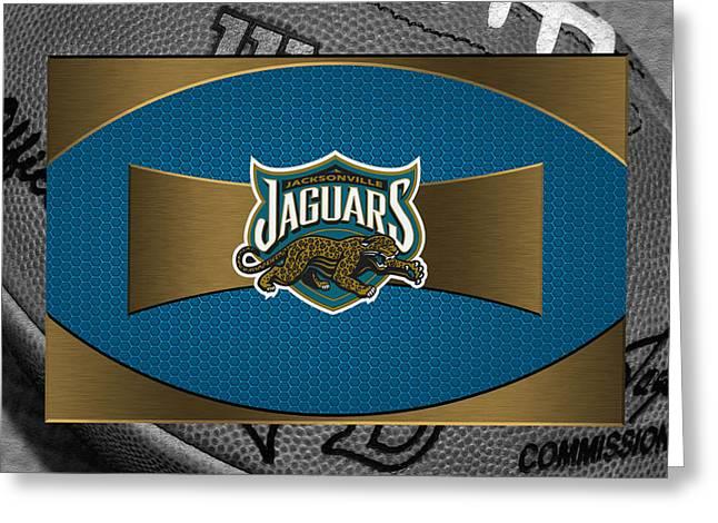 Jacksonville Greeting Cards - Jacksonville Jaguars Greeting Card by Joe Hamilton