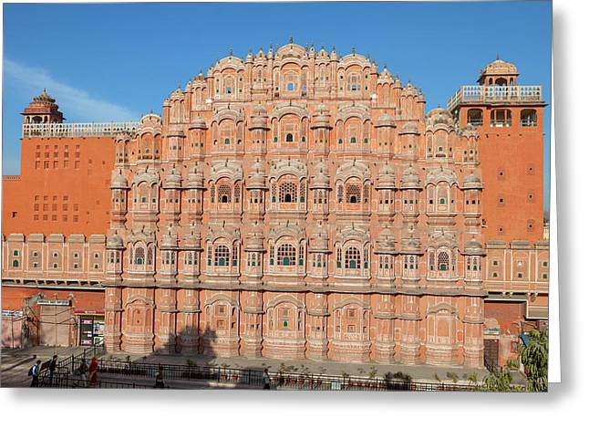Jaipur, Rajasthan, India Greeting Card by Charles O. Cecil