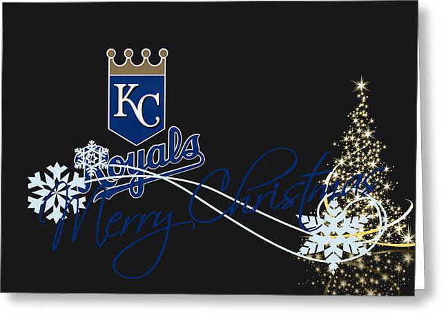 Kansas City Royals Greeting Cards - Kansas City Royals Greeting Card by Joe Hamilton