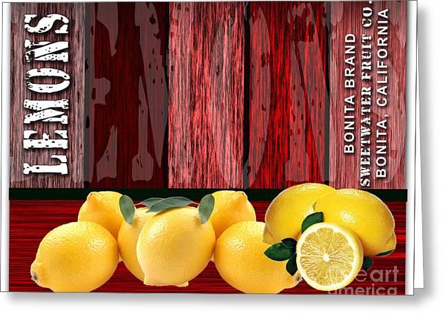 Lemon Farm Greeting Card by Marvin Blaine