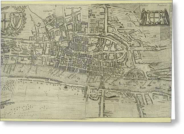 London And Westminster Greeting Card by British Library