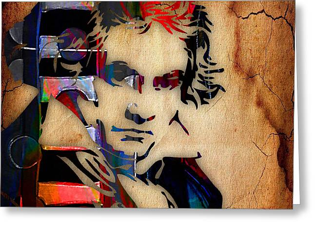 Beethoven Greeting Cards - Ludwig Van Beethoven Collection Greeting Card by Marvin Blaine
