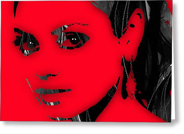 Mila Kunis Greeting Cards - Mila Kunis Collection Greeting Card by Marvin Blaine