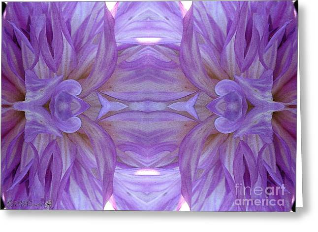 Proportionate Greeting Cards - Mingus Randy Abstract Greeting Card by J McCombie