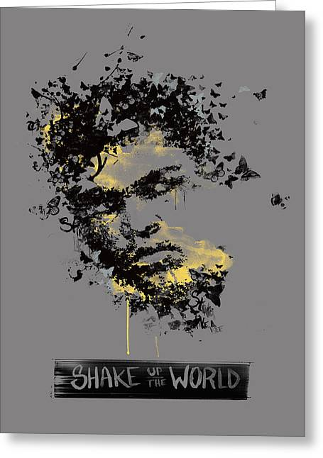 Normal Greeting Cards - Muhammad Ali Greeting Card by Pop Culture Prophet