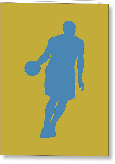 Division Greeting Cards - Nba Shadow Player Greeting Card by Joe Hamilton