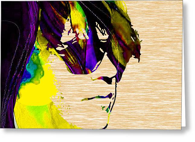 Young Greeting Cards - Neil Young Collection Greeting Card by Marvin Blaine