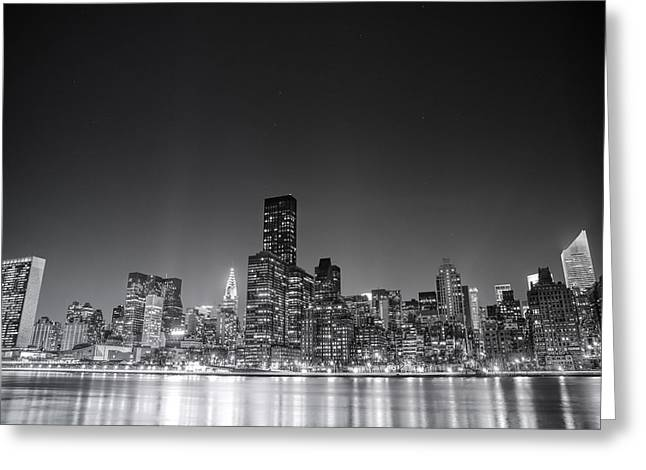 Midtown Greeting Cards - New York City Greeting Card by Vivienne Gucwa